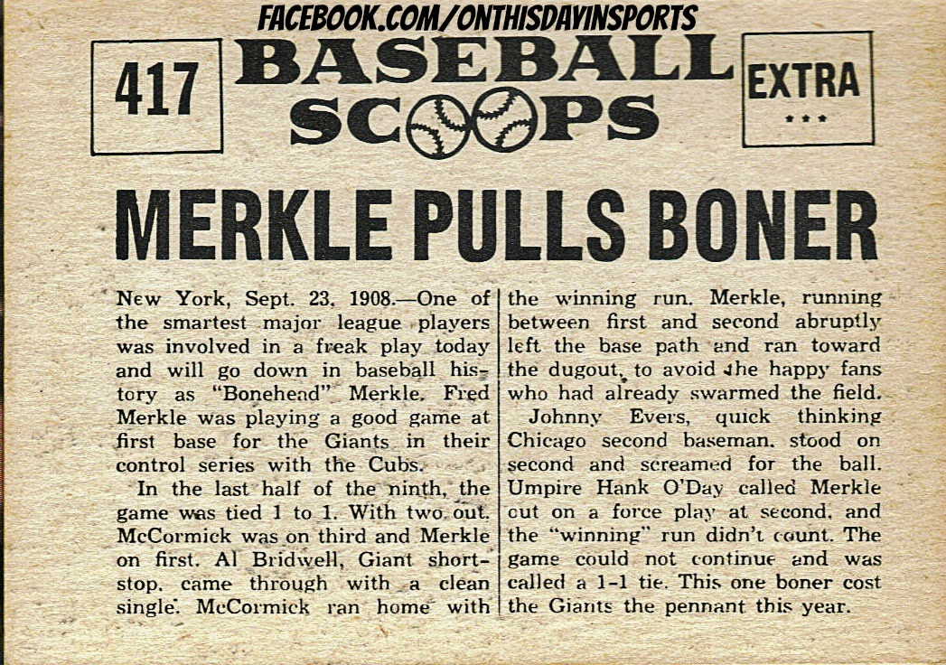 Image result for merkle's boner